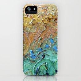 Brushstroke Detail of a Van Gogh iPhone Case