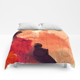 gestural abstraction 01 Comforters