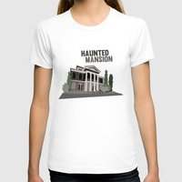 haunted mansion T-shirts featuring new Orleans square.. haunted mansion by studiomarshallarts