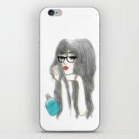 jasmine iPhone & iPod Skins featuring Jasmine by Teresa