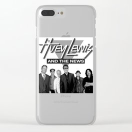 HUEY LEWIS AND THE NEWS WORLD TOUR DATES 2019 IJAD Clear iPhone Case