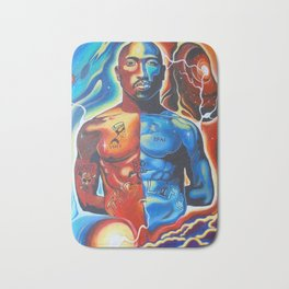 Cosmic Tupac Bath Mat