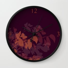 Plumberry Mood Wall Clock