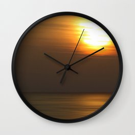 Lone Figure Wall Clock