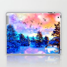 Dancing Birds Laptop & iPad Skin