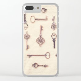 Keys to My Heart Clear iPhone Case