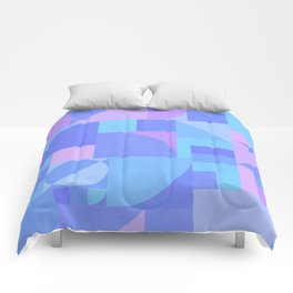 Periwinkle Bauhaus Comforters