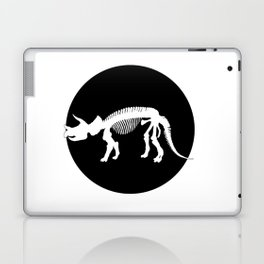 Triceratops skeleton Laptop & iPad Skin
