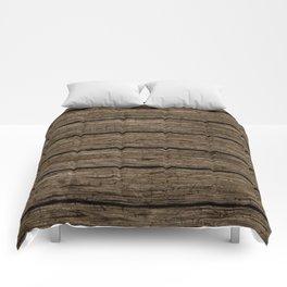rough wooden planks Comforters