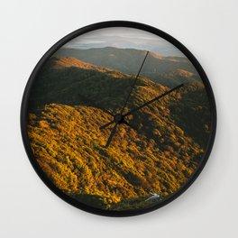 Kahpahlim Rock Sunrise IV Wall Clock