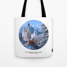 008: Neuschwanstein Castle Tote Bag