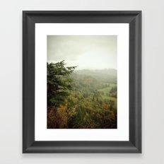 Overhang Framed Art Print