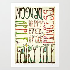 My Happy Ever After Art Print
