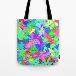 Pizza, weed and lazy cats Tote Bag