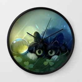 Stealth action Wall Clock