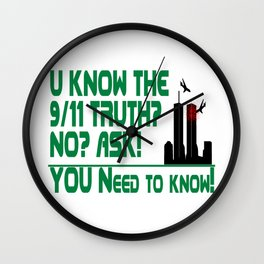 The 9/11 Truth Wall Clock