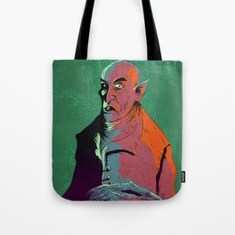 Nosferatu At Rest Tote Bag