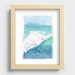Elemental Water Recessed Framed Print