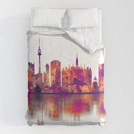 Vienna Austria Skyline Comforters