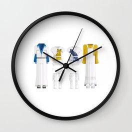 Pop Group Minimal Sticker Wall Clock