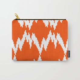 Ikat on Clementine Carry-All Pouch