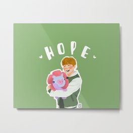 Jhope and Mang Metal Print