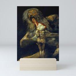 "Francisco Goya ""Saturn Eating his Son"" Mini Art Print"