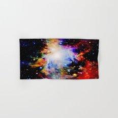 GaLaXY : Orion Nebula Dark & Colorful Hand & Bath Towel