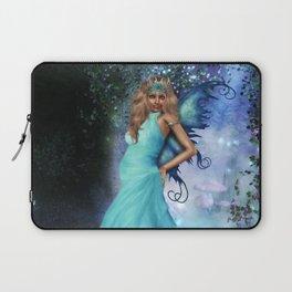 Crystal Blue Laptop Sleeve