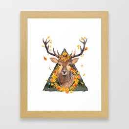 The Spirit of the Forest Framed Art Print