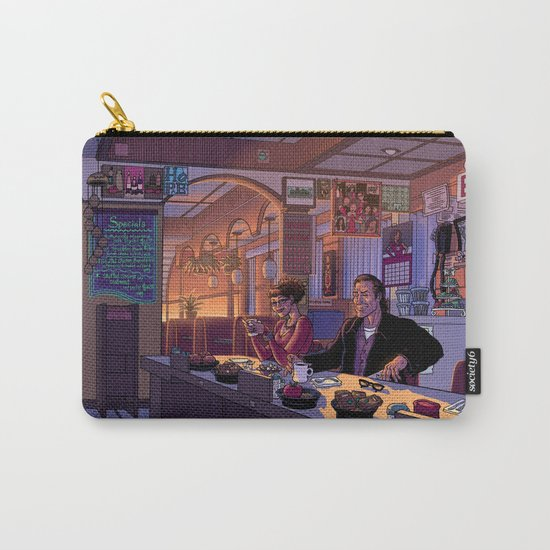 Diner Scene Carry-All Pouch