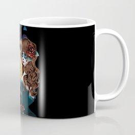 Zombie girl and window Coffee Mug
