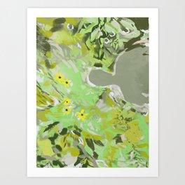 Maine Wildflowers Art Print