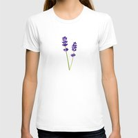 lavender T-shirts featuring Lavender by She's That Wallflower