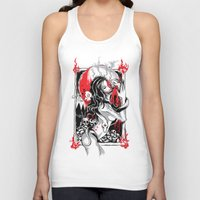 witchcraft Tank Tops featuring Witchcraft by edison zhou
