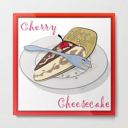 National Cheese Cake Day Metal Print