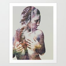 Wilderness Heart III Art Print