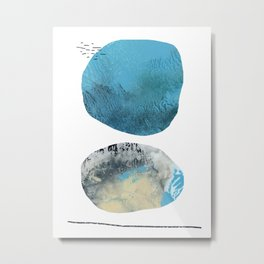 We Tell Our Secrets to the Moon Metal Print