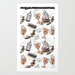 Potter Things Art Print