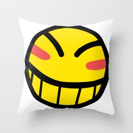 Cowboy Bebop - Hacker Smile Throw Pillow