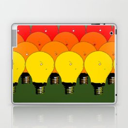 LIGHTBULBS 1 Laptop & iPad Skin