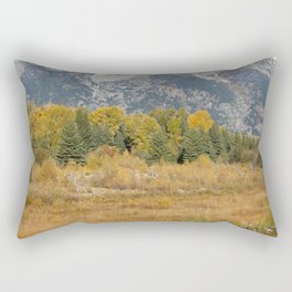 Old Grand and the Snake Rectangular Pillow