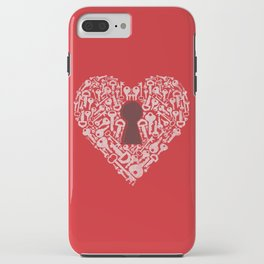 The Key To My Heart iPhone Case