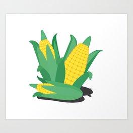 Farmers Corn Art Print