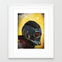 starlord Framed Art Prints featuring Starlord by Jimmy Breen