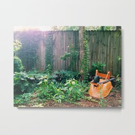backyard Metal Print