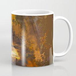 Exploding vibrant sunset Coffee Mug