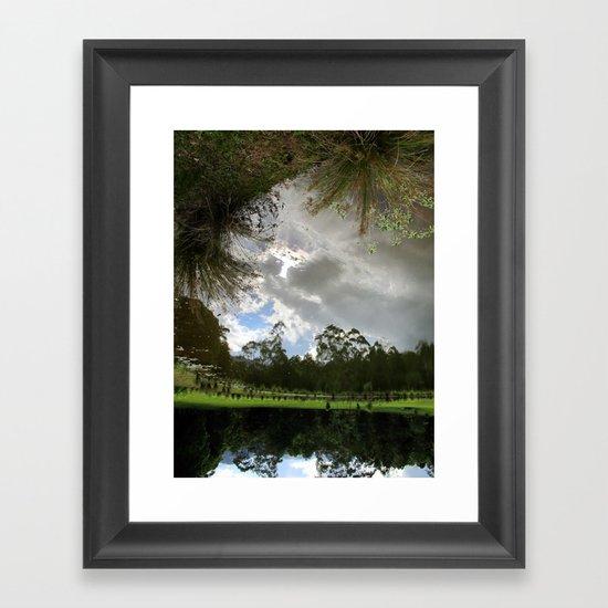 I Fell... Framed Art Print