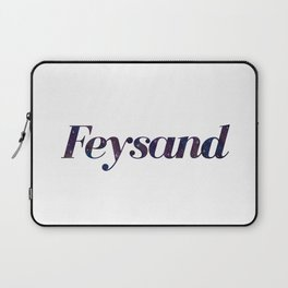 Feysand galaxy design white Laptop Sleeve