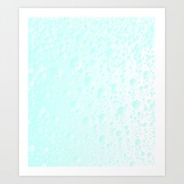 Carbonated Water Art Print
